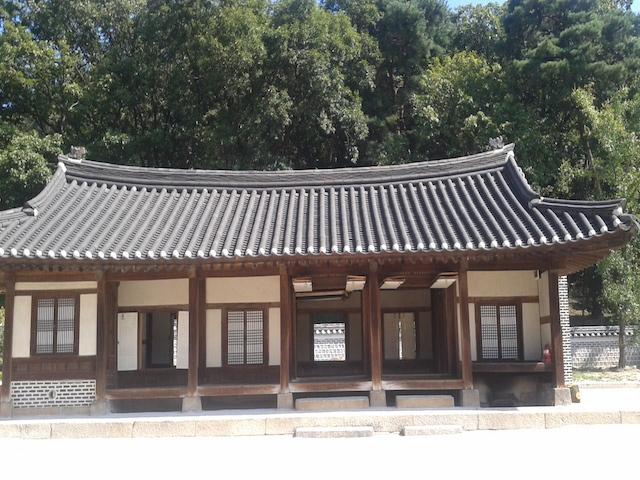 韓国伝統様式の建物