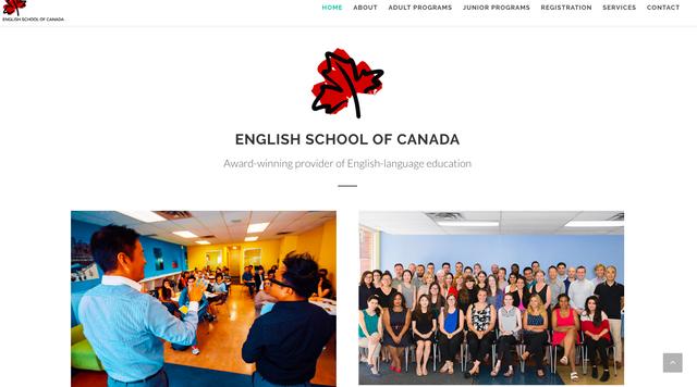 ESCのホームページ