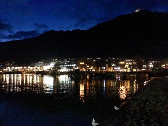 ニュージーランドの夜
