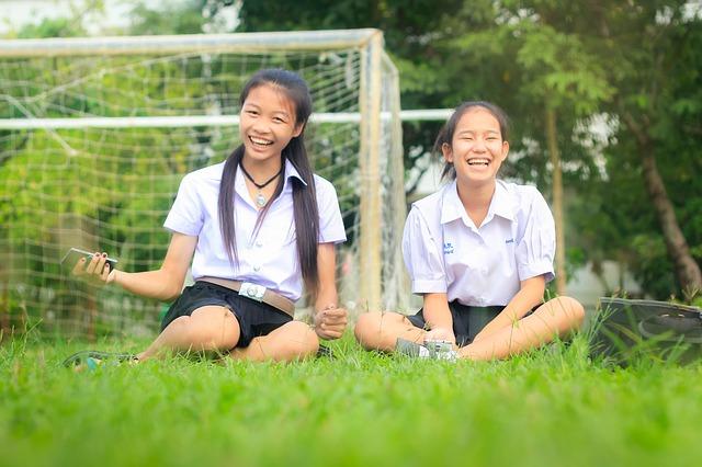 タイ人の学生