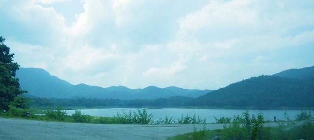 チェンマイの湖