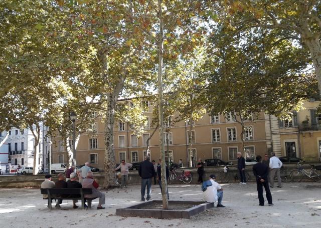 Jardins de la Fontaine(泉水公園)